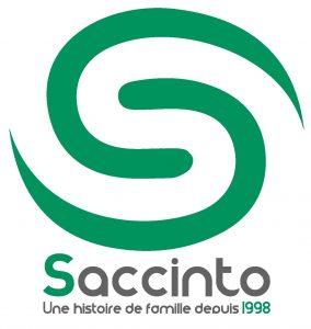 logo gazon synthétique famille saccinto