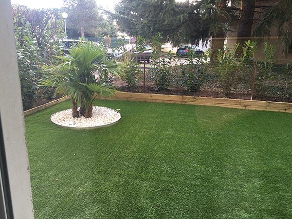 rez de jardin gazon synthétique supra
