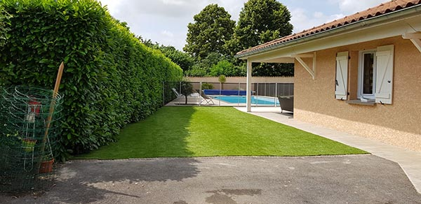 gazon synthétique supreme piscine