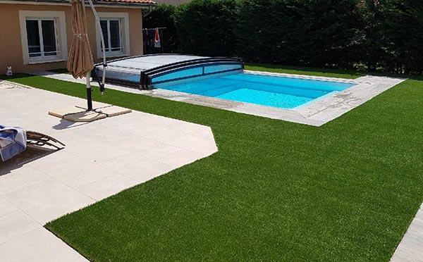 piscine gazon synthétique supra