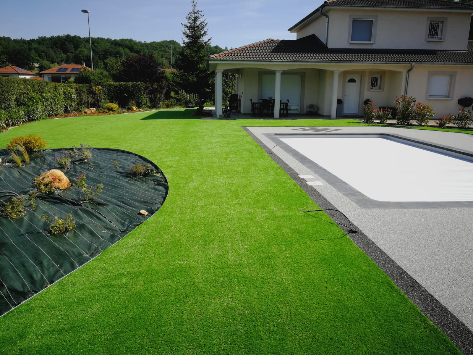 jardin gazon synthétique real 37