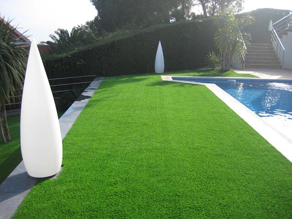jardin piscine gazon synthétique real 37